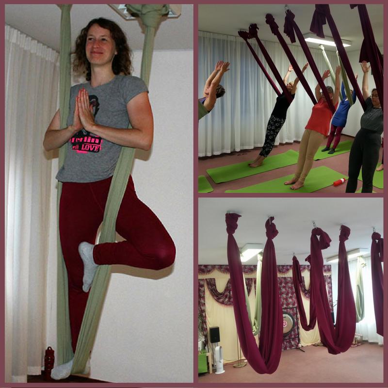 Aerial yoga Gurbatschan Amersfoort